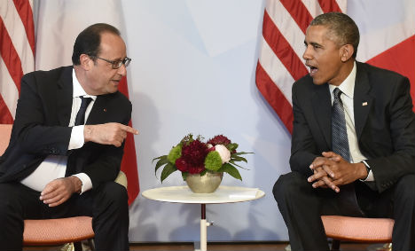Hollande hails Obama's 'courage' on climate plan