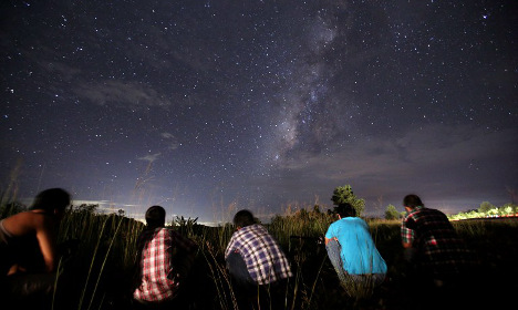 French skies to light up in mega meteor shower