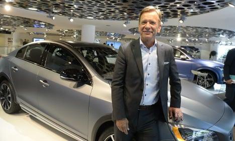 Volvo stays in fast lane despite China dip