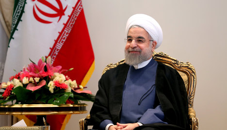 Italy invites Iran's Rouhani for Rome visit