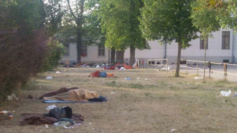 'No respect' for human rights at Traiskirchen camp