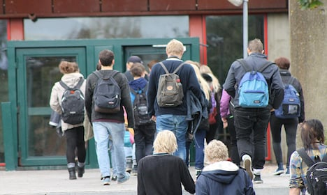 Denmark draws students from southern Europe