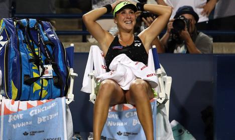 Swiss teen beats tennis world number one