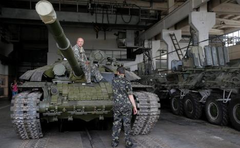 Ukraine again 'explosive', Germany warns
