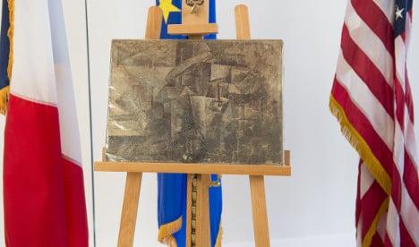 Picasso: US returns stolen artwork to France
