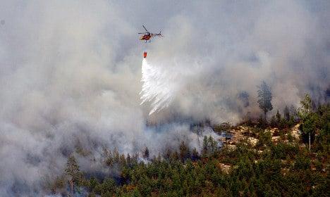 Fire alert as Sweden sizzles in heatwave