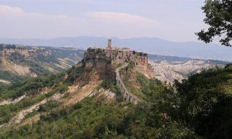 Civita: The Italian town that refuses to die