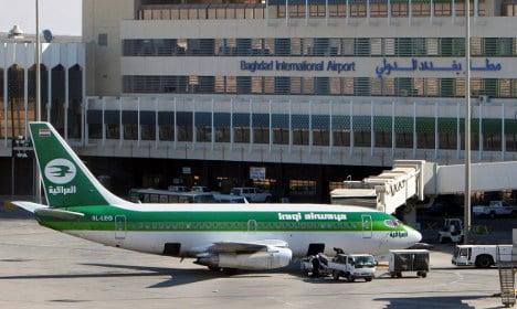 Iraqi Airways banned by Swedish authorities
