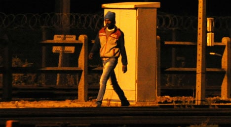 Migrant almost walks to UK through Tunnel