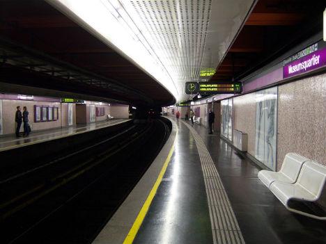 Man escapes unhurt after falling under metro train