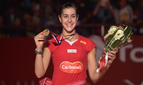 Spanish champion served up fascist anthem