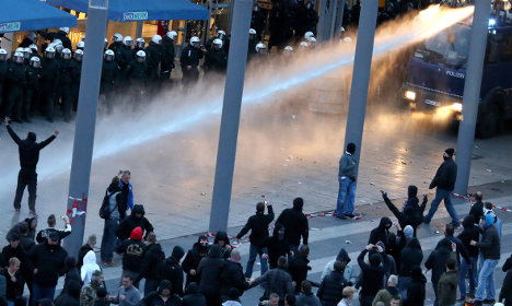 'Hooligan' jailed for Cologne mass rampage
