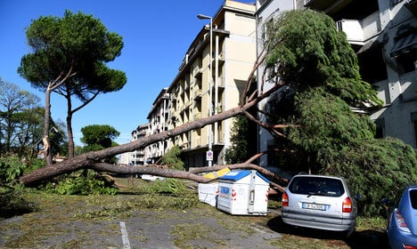 Florence mulls refugees for storm clean-up
