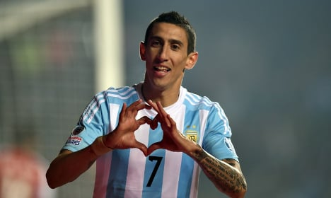 PSG confirm €63million signing of Angel Di Maria