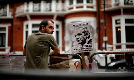 Sweden's Assange case deadlocked over asylum