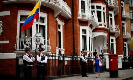 Britain slams Ecuador for 'abuse' in Assange case