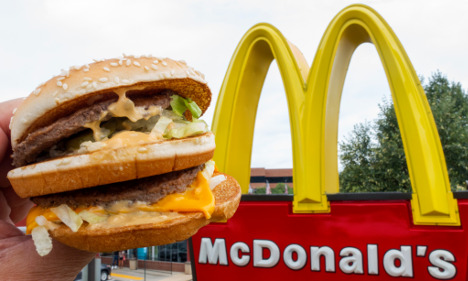 French McDonald's sorry for homeless burger ban