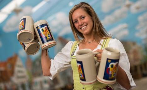 Oktoberfest reveals official beer mug of 2015