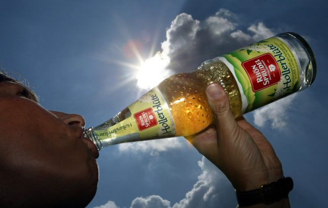 Germany's top refreshing summer drinks