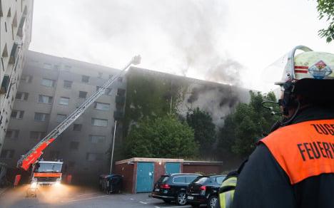 Hamburg bunker blast and fire injure 38