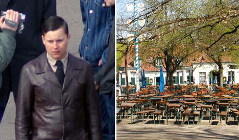 Guests drive neo-Nazi from Munich beer garden