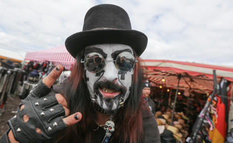 Wacken festival draws metalheads of the world