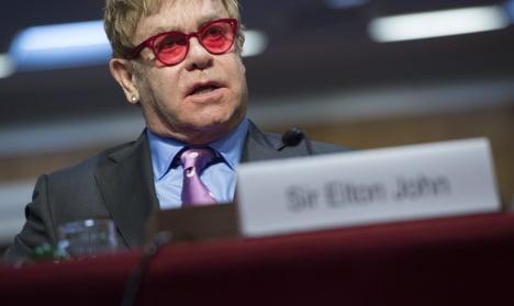 Elton John slams Venice mayor for gay book ban
