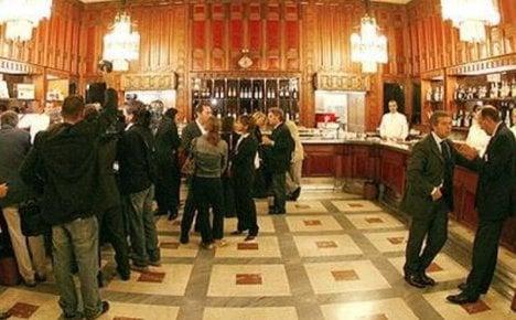 Ex-Italian MPs leave €20k tab at parliament bar