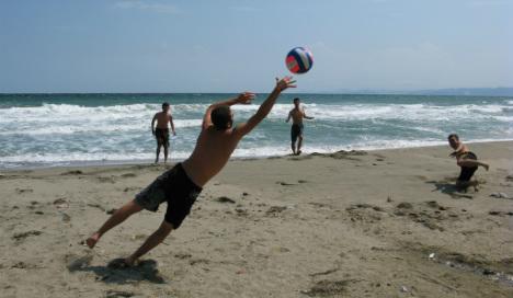 Beach football ban amid health and safety fears