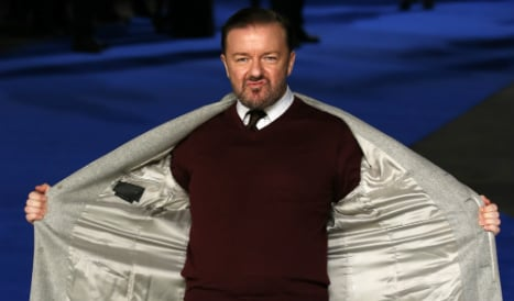 Ricky Gervais sides with bulls over fatal gorings