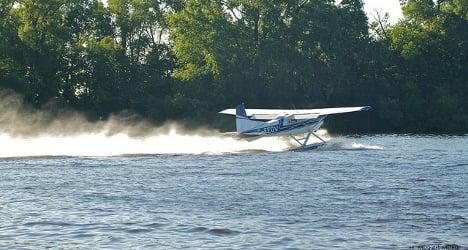 Seaplane pilots offer rides over Lake Geneva