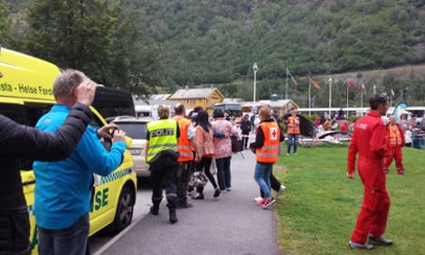 Swedish coach catches fire in Norwegian tunnel