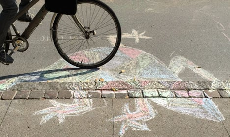Nørrebro home to world's largest chalk drawing
