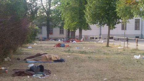 Efforts to improve 'inhumane' camp