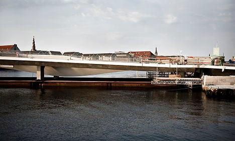 Copenhagen's 'Kissing Bridge' completed