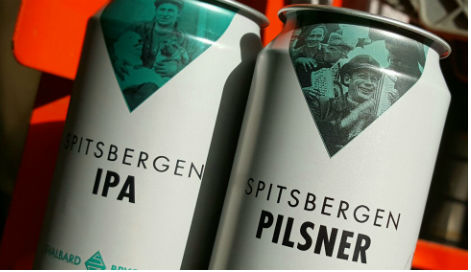 Svalbard brews world's most northerly beer
