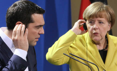 Berlin's tough line splits European public opinion