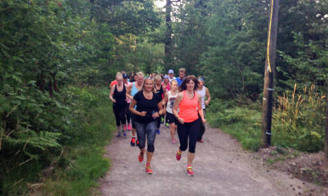 Thousands run for Swedish murder victim