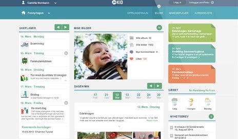 Norway nursery apps keep mums updated