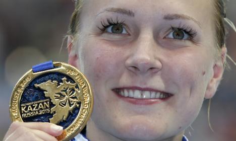 Sweden's Sjöström secures world fly double