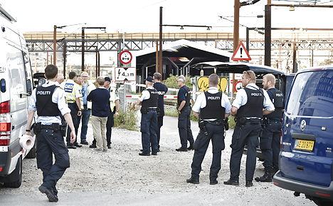 Assault shuts down Copenhagen train traffic