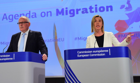 EU blasts lack of action over migrant influx