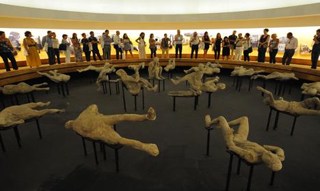 Pompeii survives bumpy restoration saga