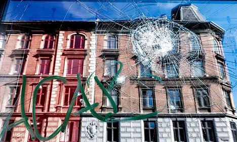 Weekend demo turns violent in Copenhagen