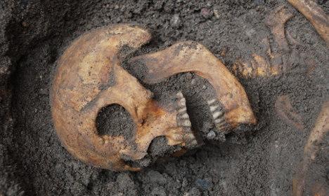 Twelve skeletons found beneath Swedish castle