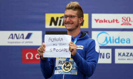 Italy's Ruffini wins gold and girlfriend's hand
