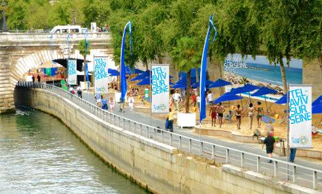 Uproar over 'Tel Aviv on Seine' event in Paris