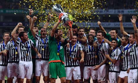 Juventus wins Italian Super Cup