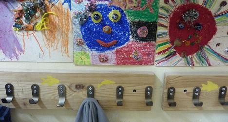 Rampaging kids trash French kindergarten