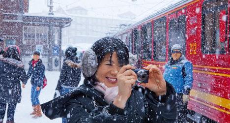 Report reveals tourists' favourite Swiss spots